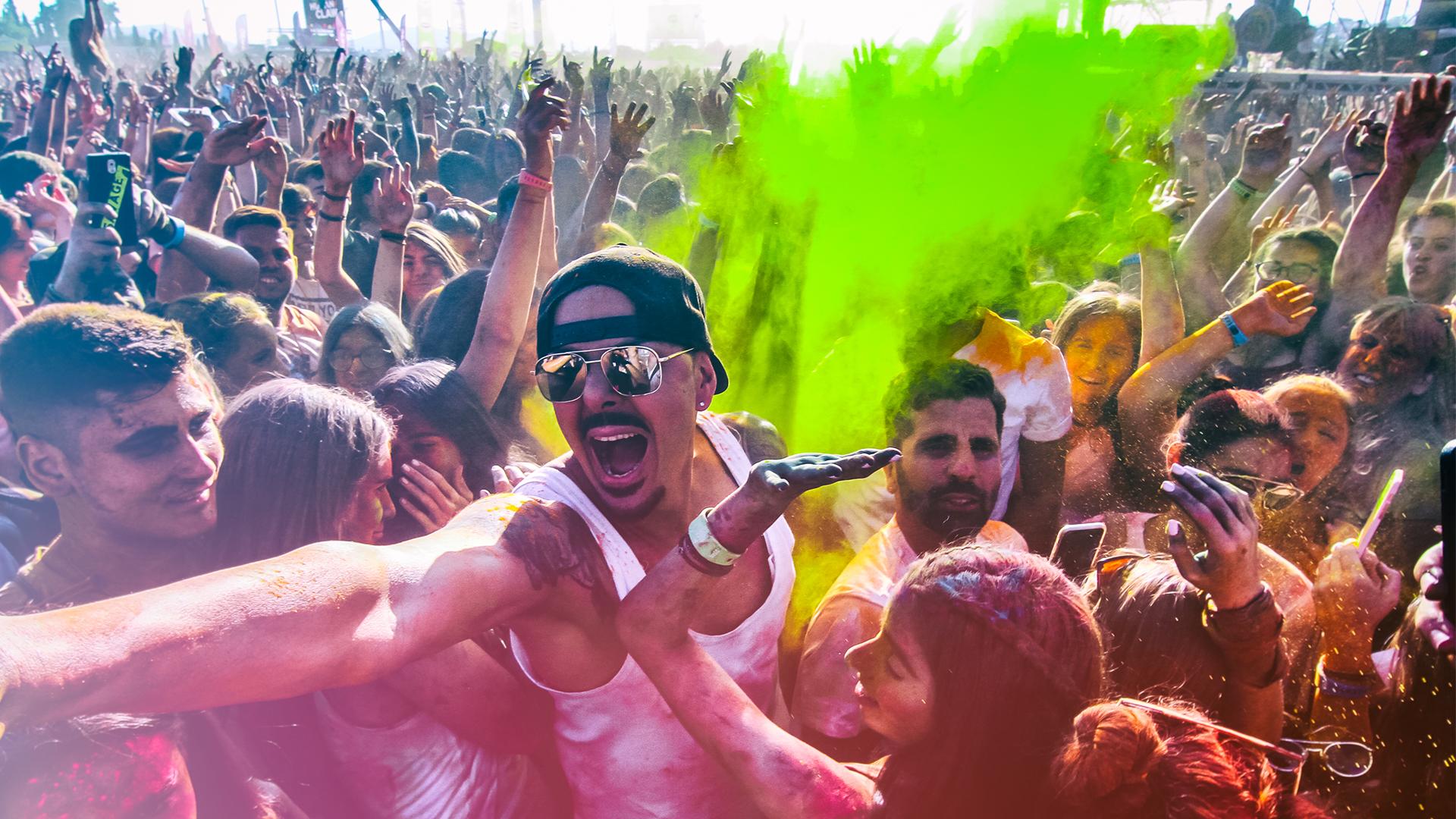 Bachelor3 Colour Day Festival